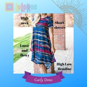 LuLaRoe Dresses - NWT Carly Dress {LuLaRoe}